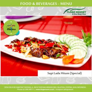Special-sapi-lada-hitam--goa-rong-tlogo-resort-tuntang-menu-food-and-beverage-design-by-duaide-jasa-website-di-semarang